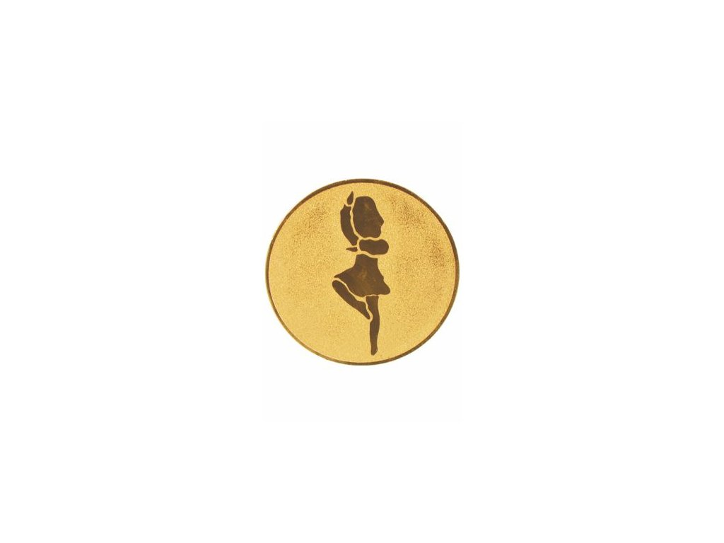 Emblém 50mm  25 tanec