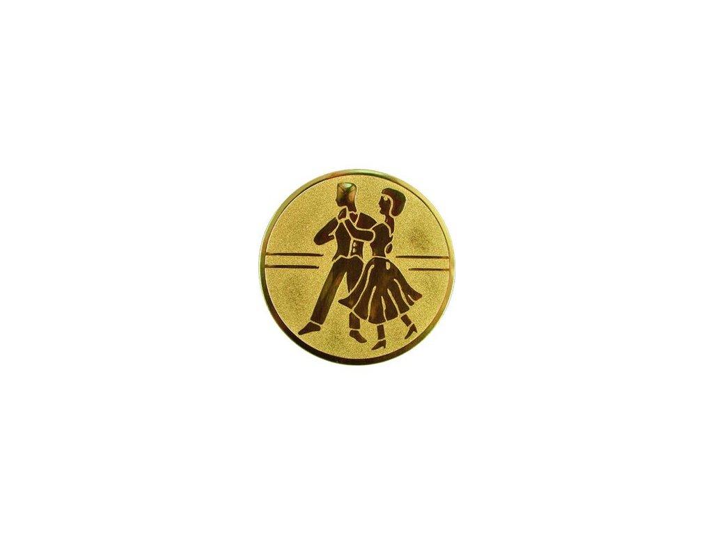 Emblém 50mm  24 tanec