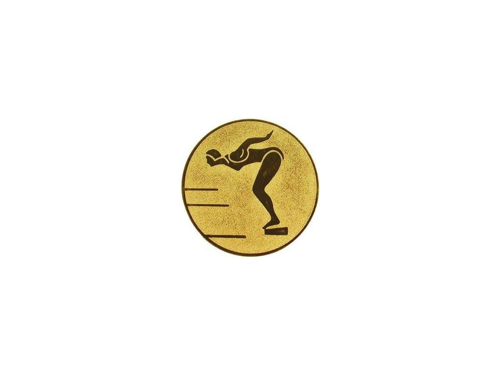 Emblém 50mm  12 plávanie ženy