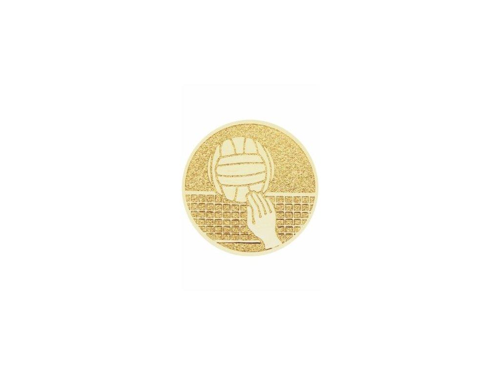 Emblém 50mm  101 volejbal lopta+sieť