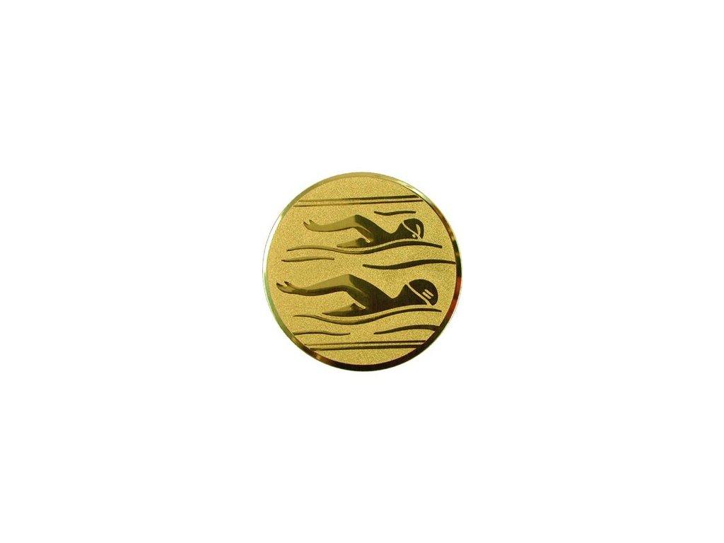 Emblém 50mm  10 plávanie