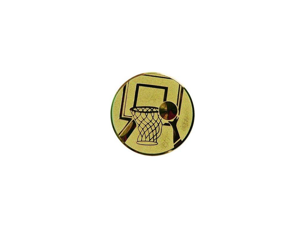 Emblém 50mm  08 basketbal