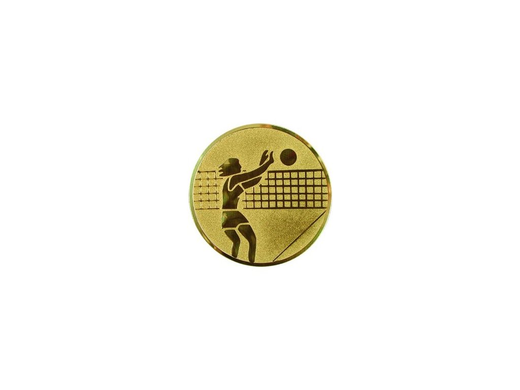 Emblém 50mm  07 volejbal ženy