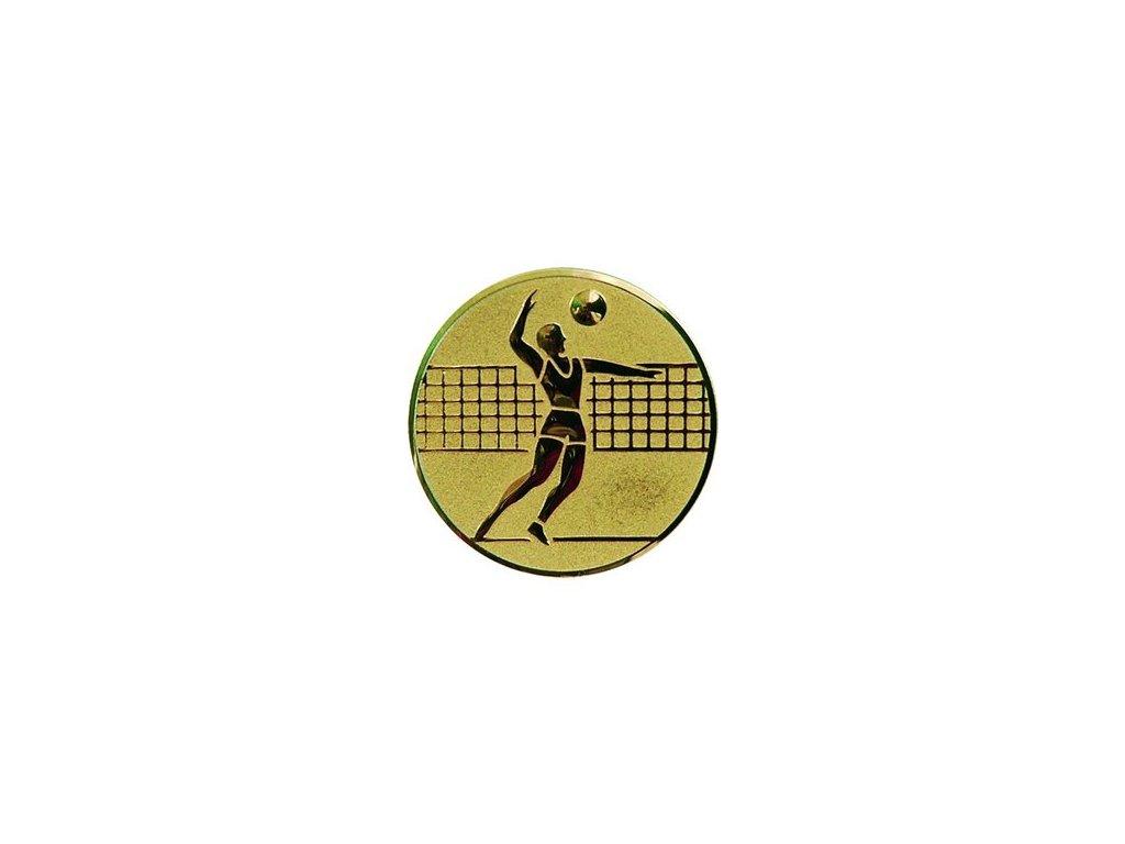 Emblém 50mm  06 volejbal muži
