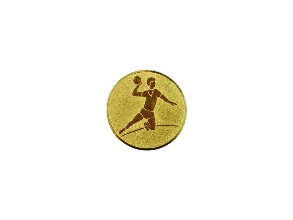 Emblém 50mm  04 hádzaná muži