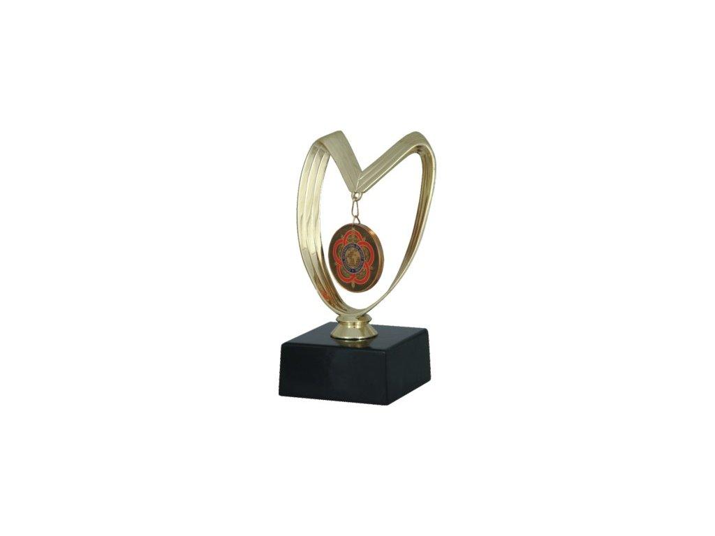 Trofej MH2/f4190 - držiak medaily
