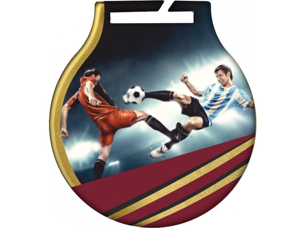 Medaila MC61/G/futbal 3