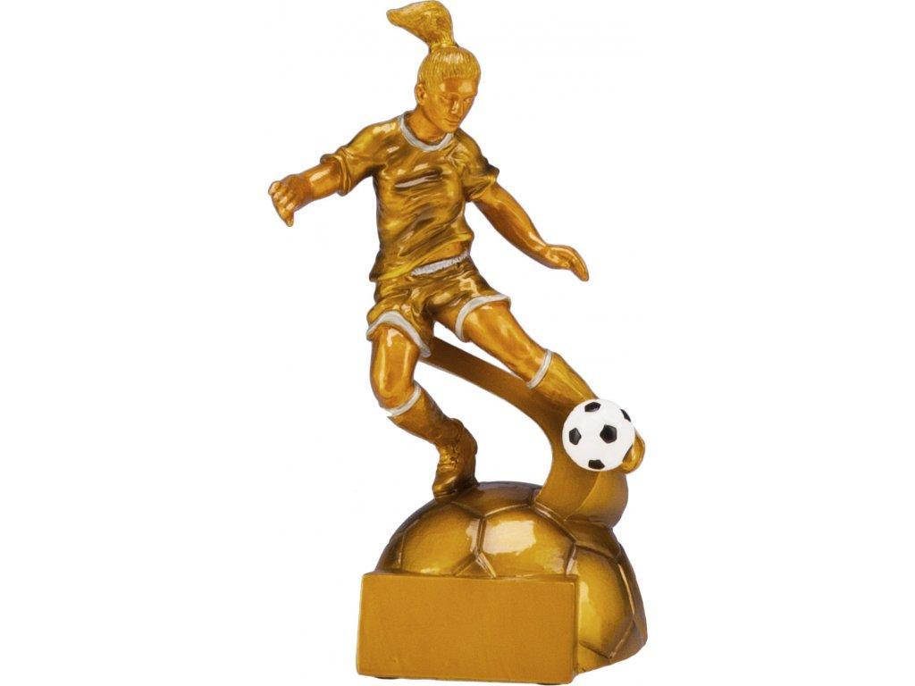 Trofej futbal žena RF8001