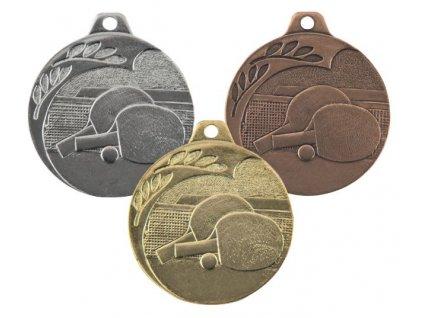 Medaila NP14/_ stolný tenis
