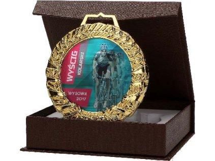 Medaila sklo MGM9060
