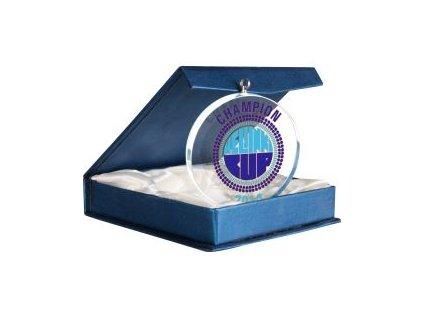 Medaila GM7010 sklo + gravírovanie