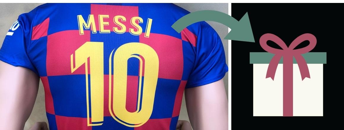 Dresy a doplňky Lionel Messi