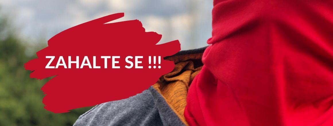 Zahalte se - roušky, šátky, nákrčníky na trops-sport.cz