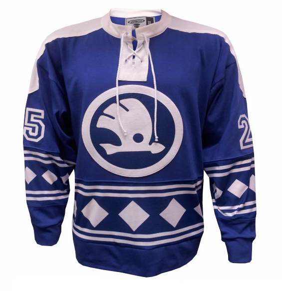 Hokejové retro dresy s potiskem na přání