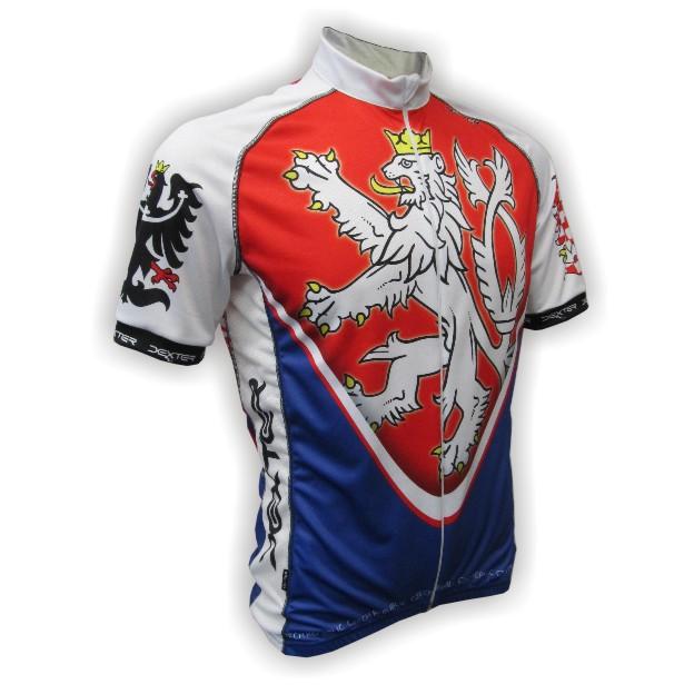 Cyklistické dresy s potiskem a úpravou vzhledu na přání  e074651cd9