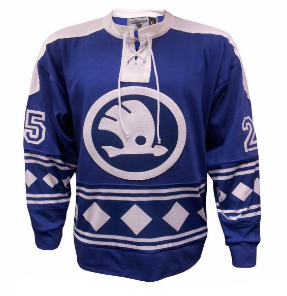 Hokejové dresy v retro stylu
