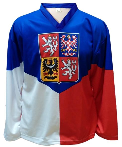 Hokejové dresy pro fanoušky i hráče