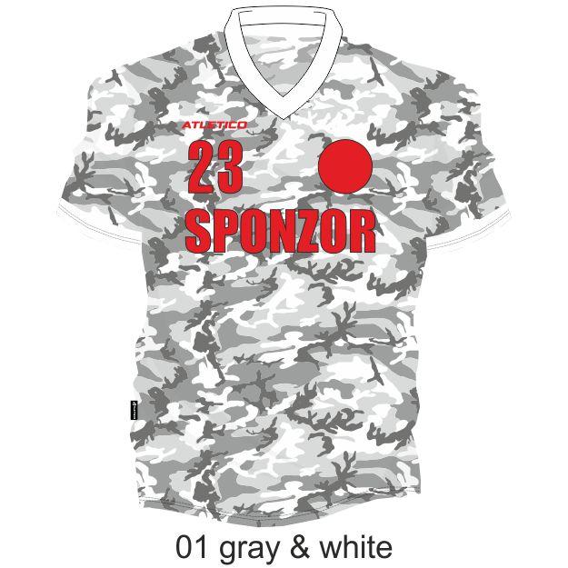 Fotbalové dresy na zakázku - barvy, jména, čísla na přání