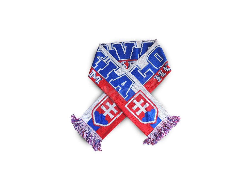 Hokejová šála Slovensko  0615bb4b153