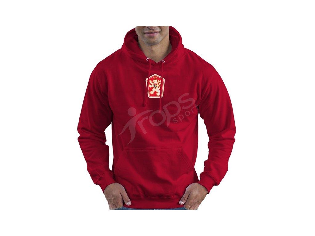 Mikina ČSSR retro červená  4bc3a1c992b