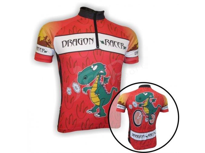Cyklistický dres DRAGON dětský