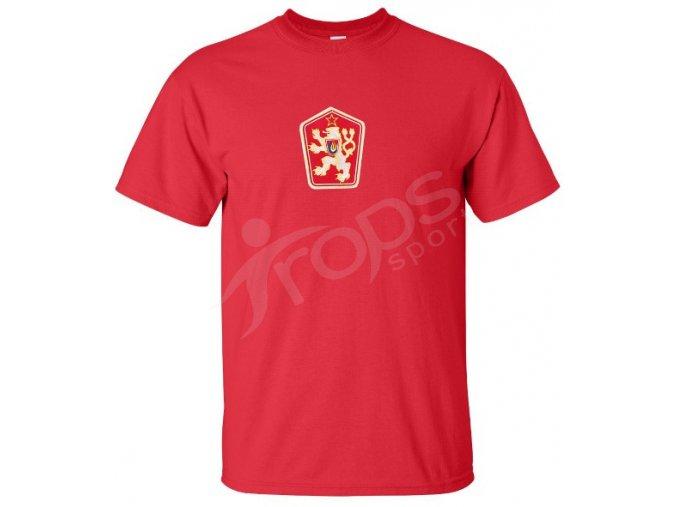 Tričko ČSSR červené