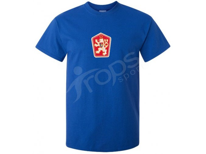 Tričko ČSSR modré