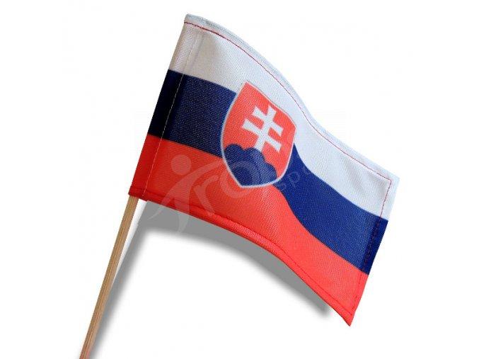 Slovenská vlaječka 15 x 9 cm