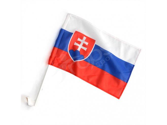 Slovenská vlaječka na auto