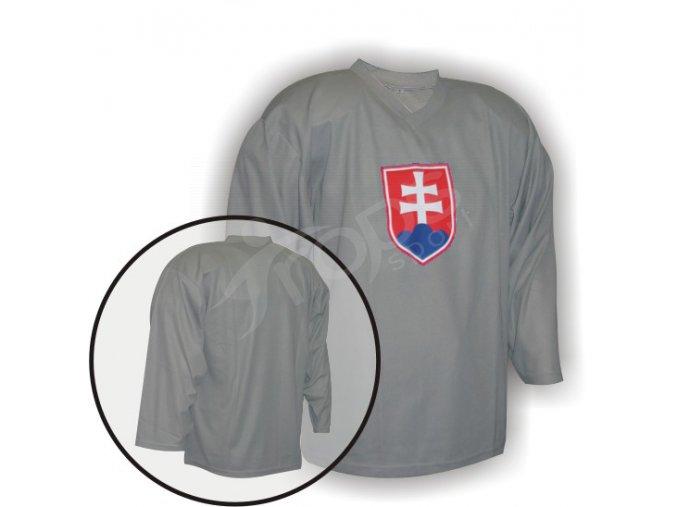 Hokejový dres tréninkový SLOVENSKO - brankářský