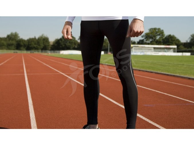 Běžecké elasťáky Spiro BODYFIT dlouhé