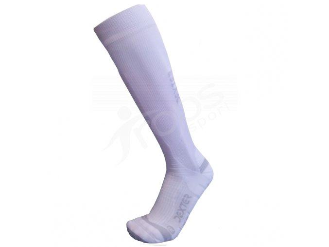 Ponožky Dexter kompresní bílé
