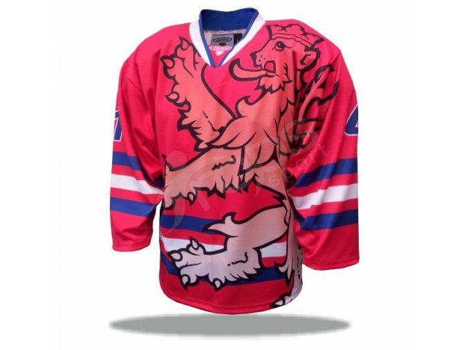 Hokejový dres ČR LEGIONÁŘ červený