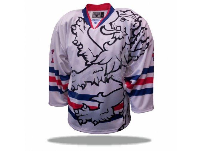 Hokejový dres ČR LEGIONÁŘ bílý
