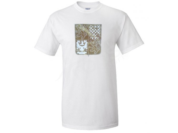 Tričko CZECH - bílé