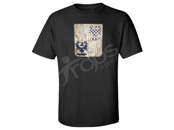 Tričko CZECH - černé