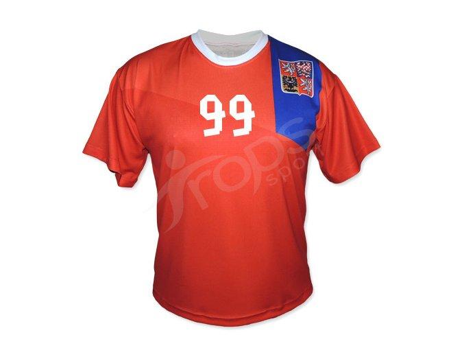 Fotbalový dres CZECH TOP červený