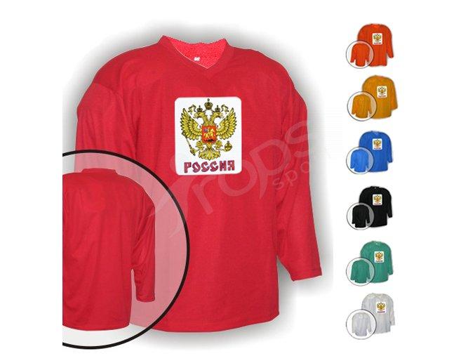 Hokejový dres tréninkový Rusko