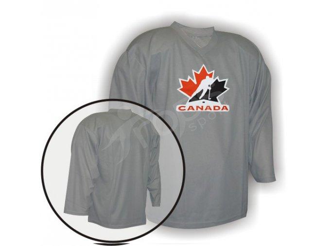 Hokejový dres tréninkový Kanada brankářský