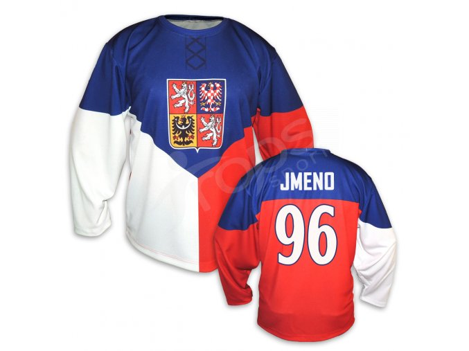 Český hokejový dres TOP domácí