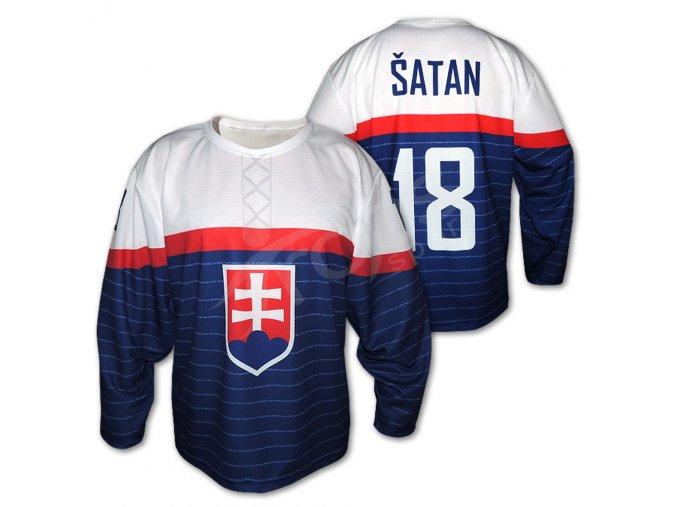 Hokejový dres SLOVENSKO 14 TOP modrý