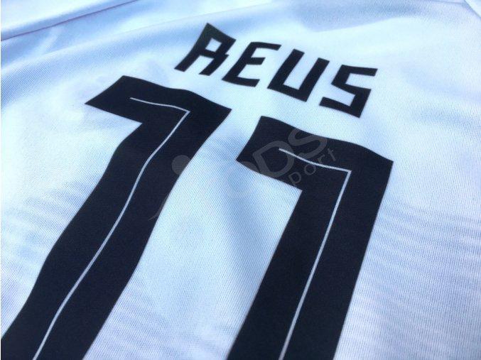 fotbalovy dres nemecko marco reus zada