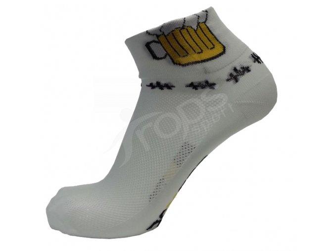 Ponožky Dexter pivo, bílé