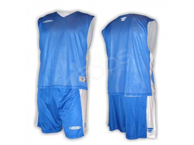 Basketbalový komplet oboustranný modrý
