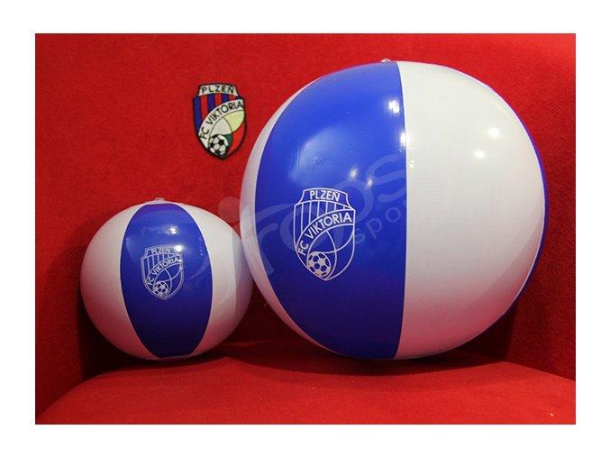 Nafukovací míč FC Viktoria Plzeň velký, průměr 24 cm