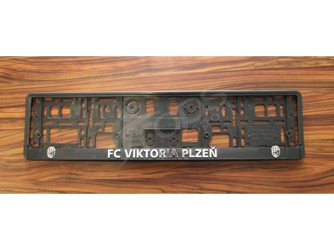 Držák SPZ FC Viktoria Plzeň