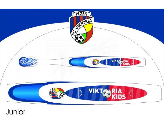 Dětský zubní kartáček FC Viktoria Plzeň