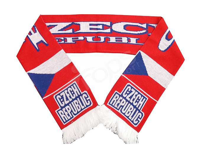 Sportovní šála Czech Republic