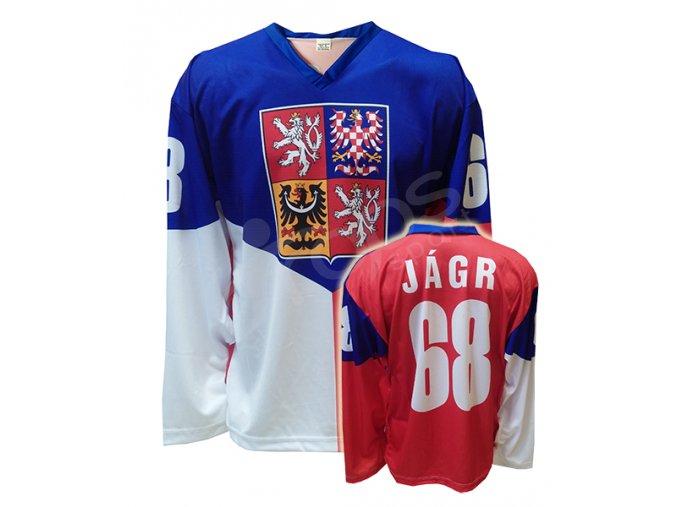 Hokejový dres ČR Jaromír Jágr domácí