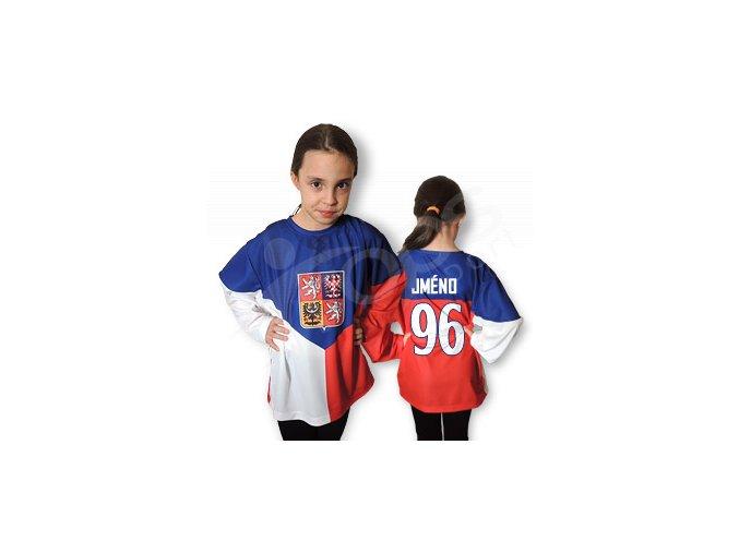 Dětský český hokejový dres TOP - domácí